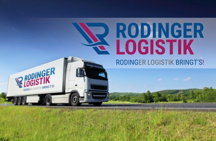 Rodinger Logistik – neues Logo