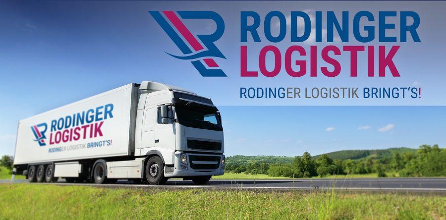 Rodinger Logistik – Ein Logo für 700 PS