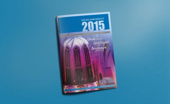 KEB Jahresbericht Titel